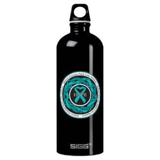 Gynecologic Cancer Hope Intertwined Ribbon SIGG Traveler 1.0L Water Bottle