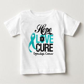 Gynecologic Cancer Hope Love Cure Infant T-shirt
