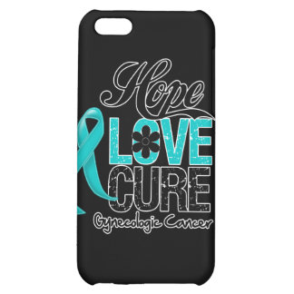 Gynecologic Cancer Hope Love Cure Cover For iPhone 5C