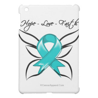 Gynecologic Cancer Hope Love Faith iPad Mini Covers
