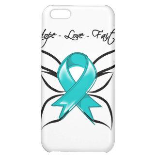 Gynecologic Cancer Hope Love Faith Case For iPhone 5C