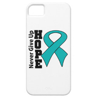 Gynecologic Cancer Hope Never Give Up iPhone 5 Cases