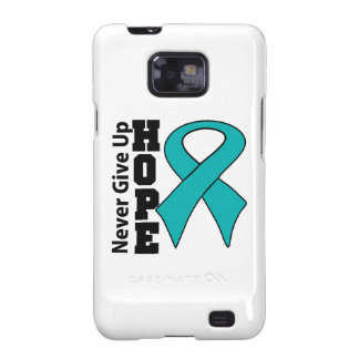 Gynecologic Cancer Hope Never Give Up Galaxy S2 Covers
