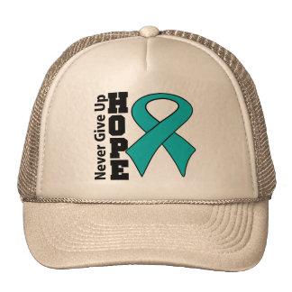 Gynecologic Cancer Hope Never Give Up Hat
