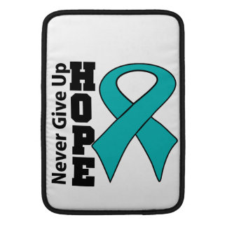 Gynecologic Cancer Hope Never Give Up MacBook Air Sleeves