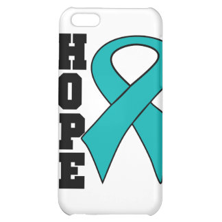 Gynecologic Cancer Hope Never Give Up Cover For iPhone 5C
