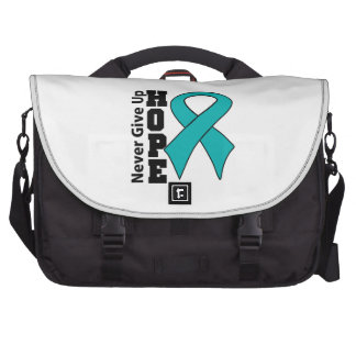 Gynecologic Cancer Hope Never Give Up Bags For Laptop