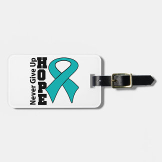 Gynecologic Cancer Hope Never Give Up Tags For Luggage