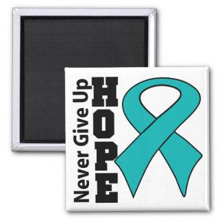 Gynecologic Cancer Hope Never Give Up Magnets