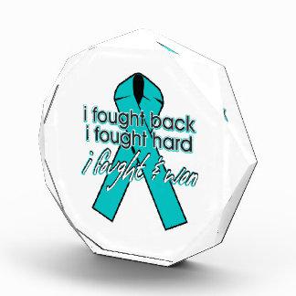 Gynecologic Cancer I Fought Back and Won Acrylic Award