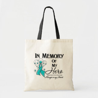 Gynecologic Cancer In Memory of My Hero Bags