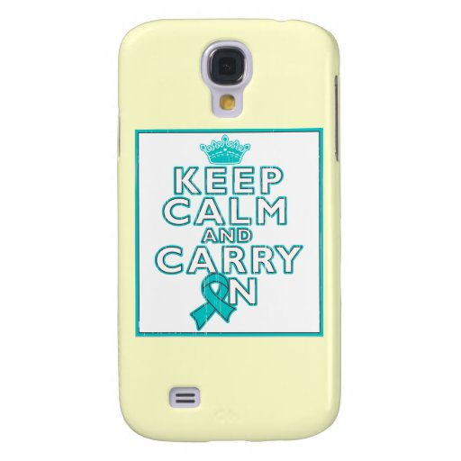Gynecologic Cancer Keep Calm and Carry ON HTC Vivid Cases