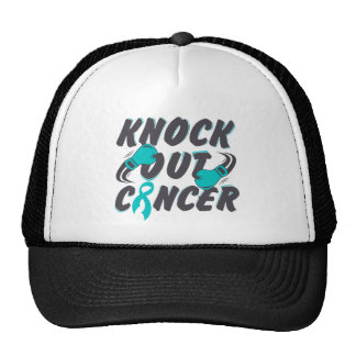 Gynecologic Cancer Knock Out Cancer Trucker Hat