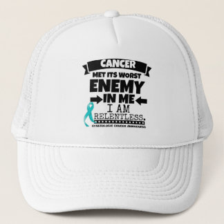 Gynecologic Cancer Met Its Worst Enemy In Me Trucker Hat