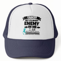 Gynecologic Cancer Met Its Worst Enemy In Me Trucker Hat
