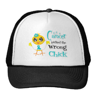 Gynecologic Cancer Picked The Wrong Chick Trucker Hat