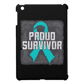 Gynecologic Cancer Proud Survivor iPad Mini Cases