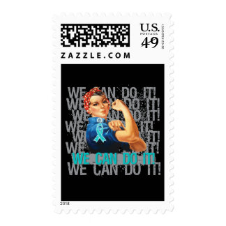 Gynecologic Cancer Rosie WE CAN DO IT Stamps