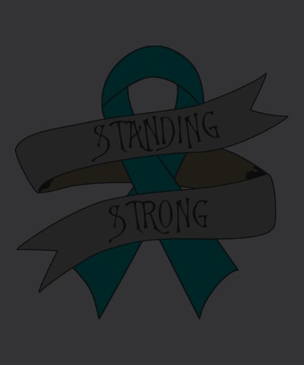 Gynecologic Cancer Standing Strong Tshirts