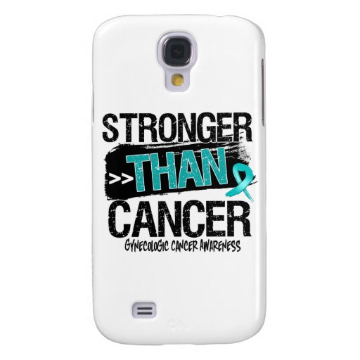 Gynecologic Cancer - Stronger Than Cancer Galaxy S4 Covers