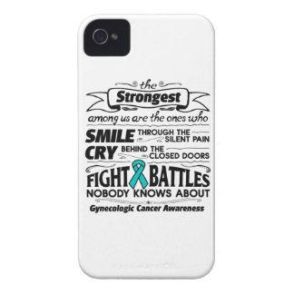 Gynecologic Cancer Strongest Among Us Case-Mate iPhone 4 Cases