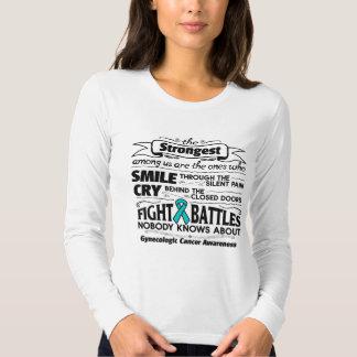 Gynecologic Cancer Strongest Among Us Shirt
