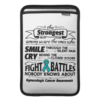 Gynecologic Cancer Strongest Among Us Sleeve For MacBook Air