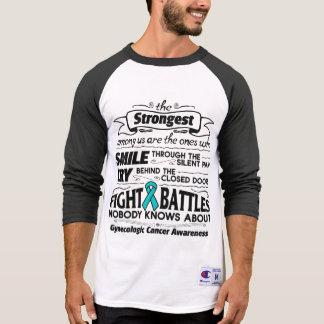 Gynecologic Cancer Strongest Among Us T-shirt