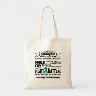 Gynecologic Cancer Strongest Among Us Tote Bag
