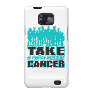 Gynecologic Cancer -Take A Stand Against Cancer Samsung Galaxy S2 Cover