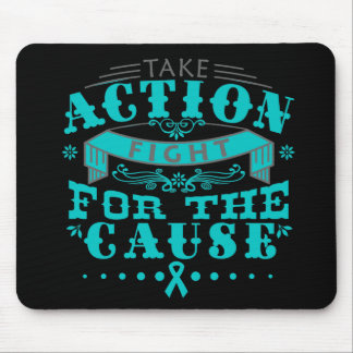 Gynecologic Cancer Take Action Fight For The Cause Mouse Pad