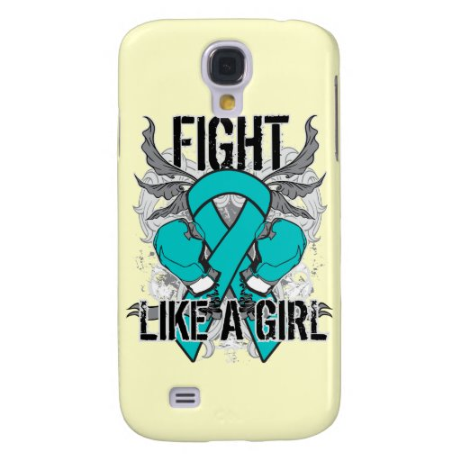 Gynecologic Cancer Ultra Fight Like A Girl HTC Vivid Cases