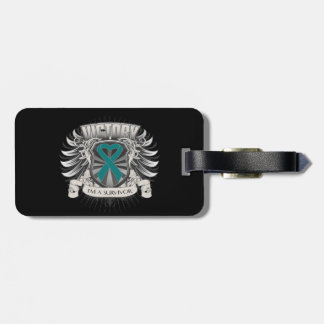 Gynecologic Cancer Victory Tags For Luggage