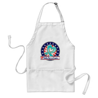 Gynecologic Cancer Vote For a Cure Adult Apron