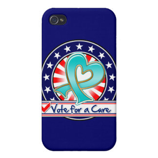 Gynecologic Cancer Vote For a Cure Case For iPhone 4