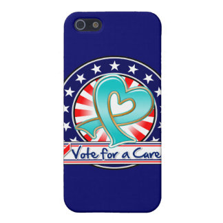 Gynecologic Cancer Vote For a Cure iPhone 5/5S Cover