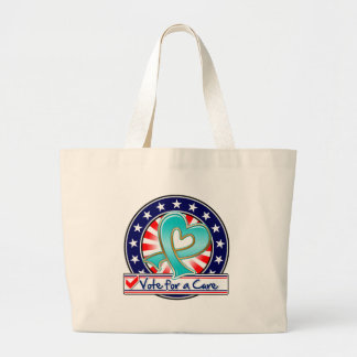 Gynecologic Cancer Vote For a Cure Jumbo Tote Bag