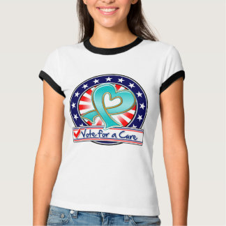 Gynecologic Cancer Vote For a Cure T-shirts