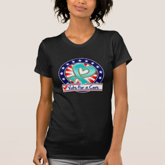 Gynecologic Cancer Vote For a Cure Tee Shirt