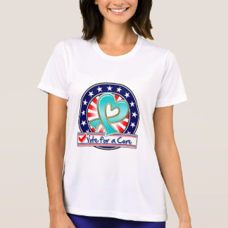 Gynecologic Cancer Vote For a Cure Tshirt