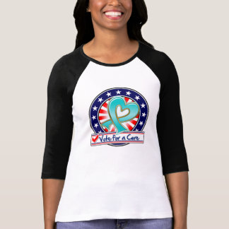 Gynecologic Cancer Vote For a Cure Tshirts