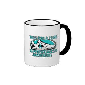 Gynecologic Cancer Walk For A Cure Ringer Coffee Mug