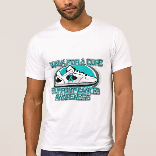 Gynecologic Cancer Walk For A Cure Shirt