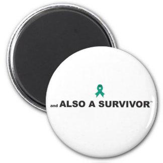 Gynecologic/Ovarian Cancer Survivor Magnet