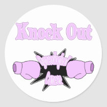 Gynecological Cancer Classic Round Sticker
