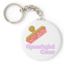 Gynecological Cancer Keychain