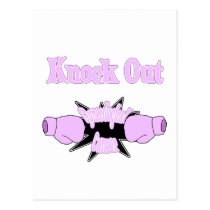 Gynecological Cancer Postcard