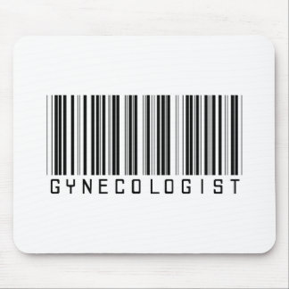 Gynecologist Bar Code Mouse Pad