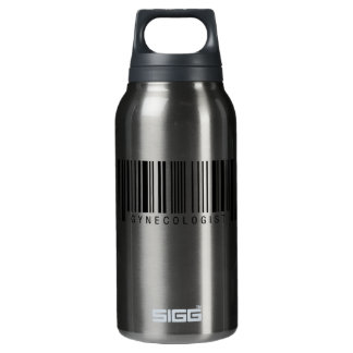 Gynecologist Barcode Insulated Water Bottle