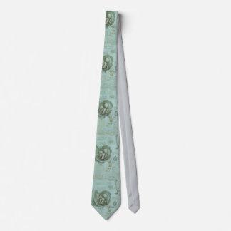Gynecologist Obstetrician Men's Tie Da Vinci Green